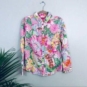 Lilly Pulitzer for Target Button Down Top